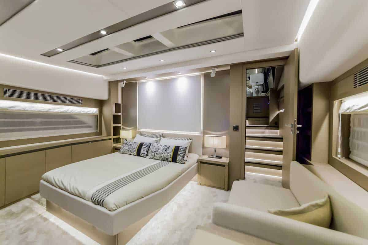 Interior Design for luxury yachts